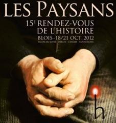 Blois 2012, Genre et sociétés rurales