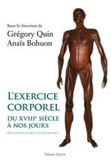 L'exercice corporel du XVIIIe siècle à nos jours