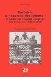 Revisiter la « querelle des femmes » –  Discours sur l'égalité/inégalité des sexes, de 1400 à 1600