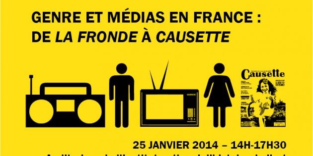 Genre et médias en France : de La Fronde à Causette