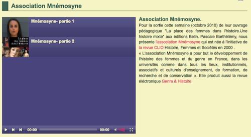 Buzzons-Mnemosyne