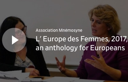 L' Europe des Femmes, 2017, an anthology for Europeans and the World
