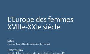 L'Europe des Femmes à Rome