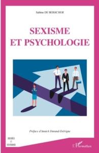 """""""Sexisme et psychologie"""" - couverture"""